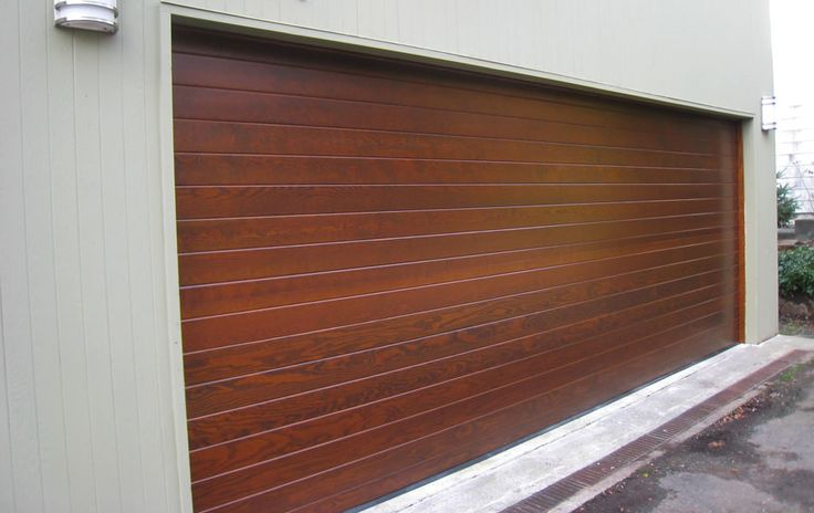 Contemporary Wood Garage Doors from Hill Country Garage Doors in Austin, TX