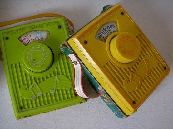 Vintage 70's Toys - Played songs to sing along. - Click image to find more Other Pinterest pins