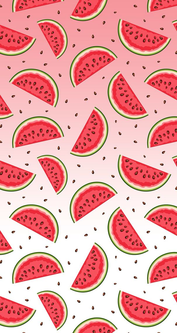 Banana, apple, pineapple, cherry, watermelon, seamless pattern ...