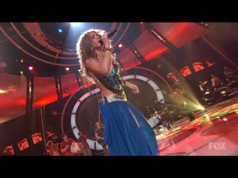 Shakira & Wyclef Jean perform Hips Don't Lie Live at American Idol - Uploaded to YouTube 2/22/2009