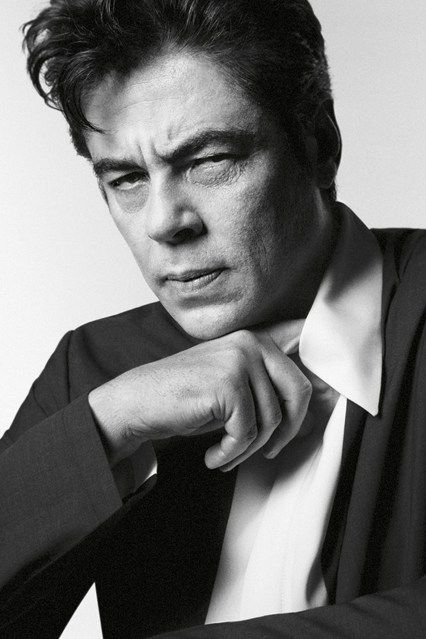 Benicio Del Toro for Prada by david Sims