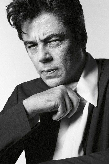 Benicio Del Toro for Prada by david Sims