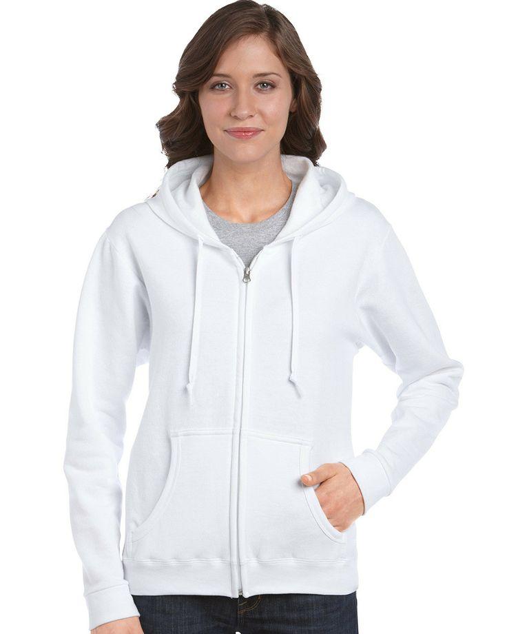 Gildan 18600FL Ladies Zipped Hoodie from X-it Corporate