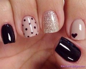 14 Cute Valentines Day Nail Art Ideas for Teens