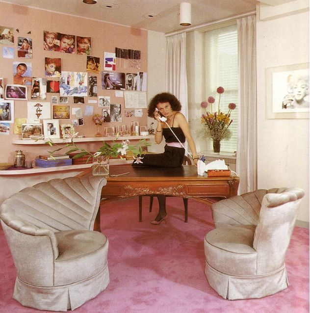 DVF at work, 1983 #livinginstyle