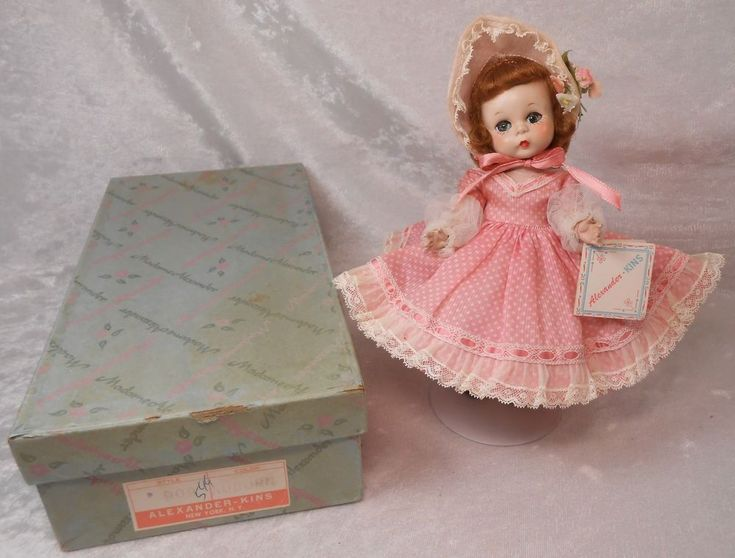 "Gorgeous RARE Madame Alexander Kins 1953 ""Little Madaline"" Mint in Box w/Tag!"