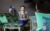 Matthew Williamson discusses his new furniture collection with Duresta, his fashion line and his bohemian home in Belsize Park