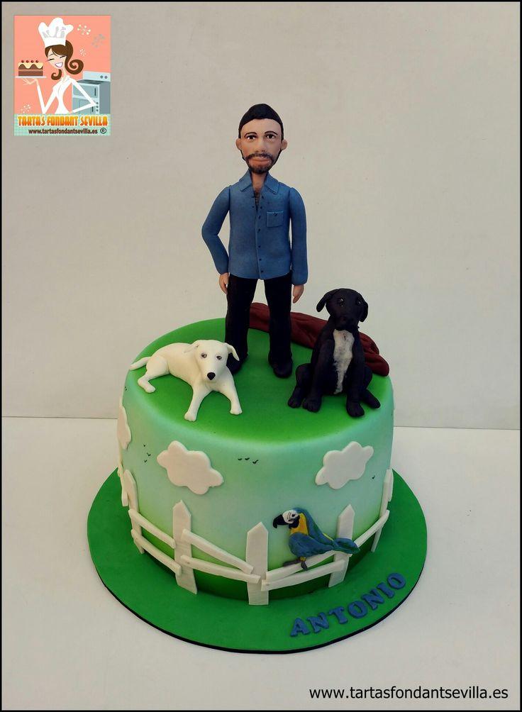 Tarta personalizada mascotas