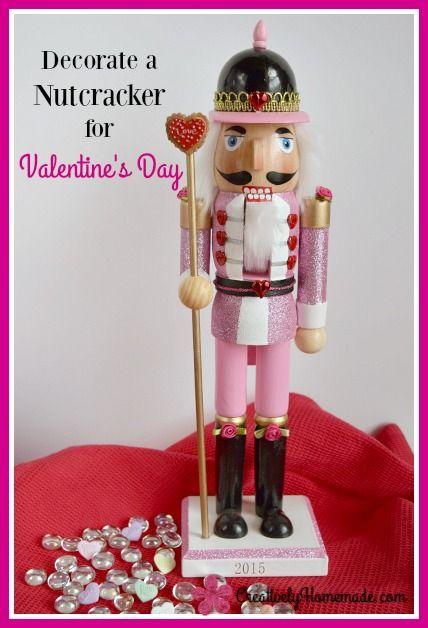 Easy Valentines Day Nutcracker