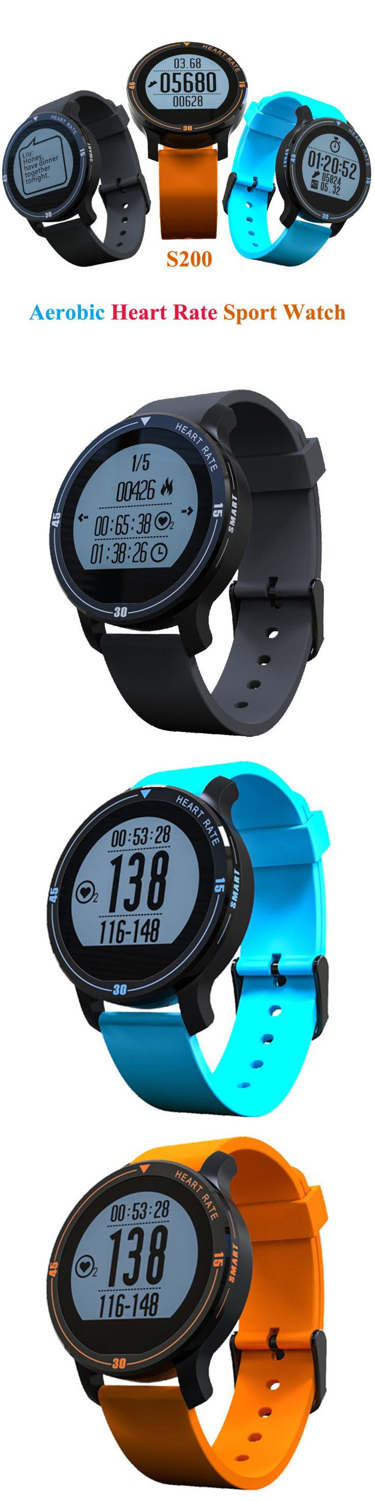 Heart Rate Monitors 177841: New S200 Outdoor Exercise Smart Watch Support Heart Rate Monitor Fitness Tracker -> BUY IT NOW ONLY: $35.63 on eBay!