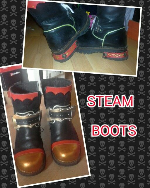 Steam-boots!