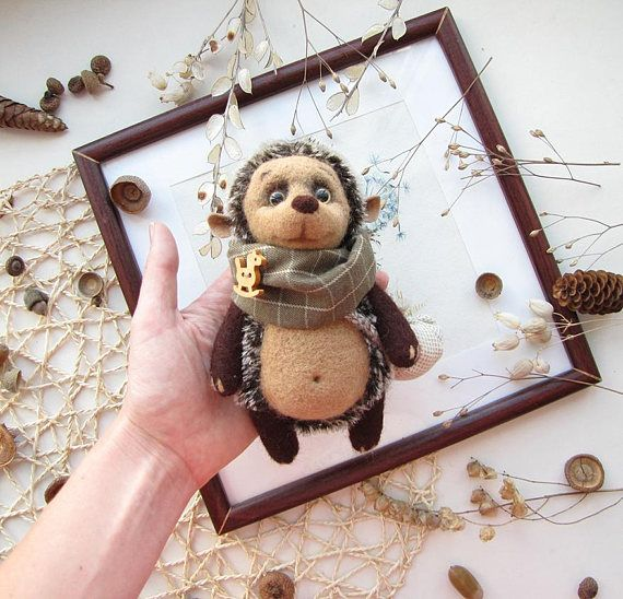 Toy Hedgehog Knit Toy Soft Hedgehog Gift for her Cute