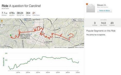 """GPS, BICYCLE & """"WILL YOU MARRY ME?""""Не знаю, слышали ли вы о нашумевшей истории, как скромный 25-летний аспирант «написал» сообщение с предложением руки и сердца длиной в 30 километров. Охохо… тогда вы..."""