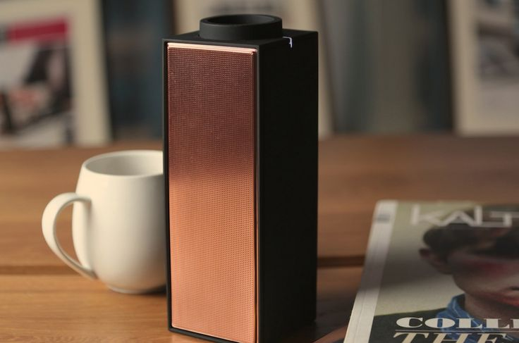 Native Union Switch Black Copper Limited Edition -              PLAY IT!   Portable Bluetooth ® Speaker Wirelessly enjoy your music , movies and games. SWITCH is...