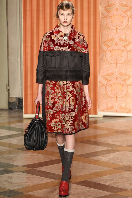 Fall 2013 Ready-to-Wear Antonio Marras Socks and the RED shoes!!!