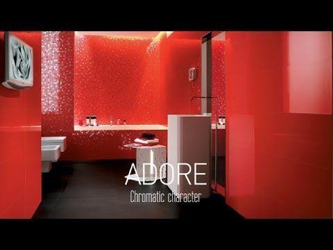 Atlas Concorde ADORE #WallTiles #ColourTrend #Shiny #Glossy