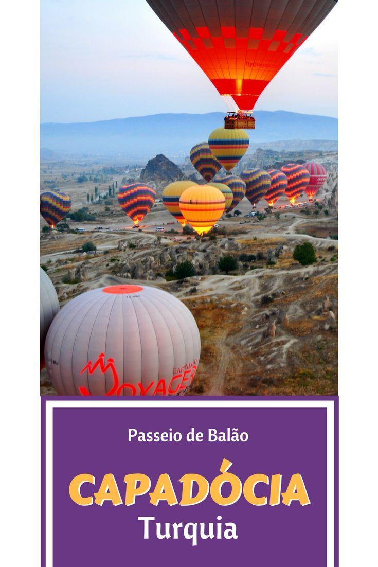 Relato de Viagem de Balão pela Capadócia na Turquia