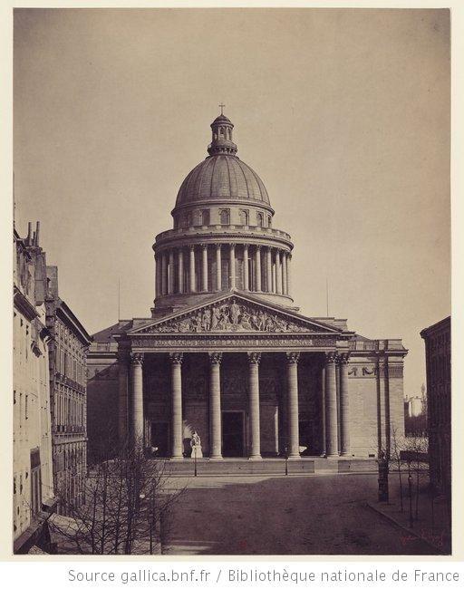 Le Panthéon. Paris / The Pantheon, Paris, 1859