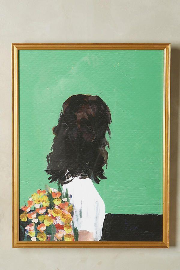Spring Dress framed art print