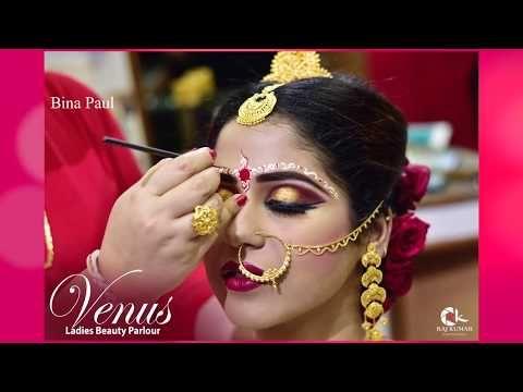 Traditional Bengali Bridal Makeup http://makeup-project.ru/2017/12/01/traditional-bengali-bridal-makeup/