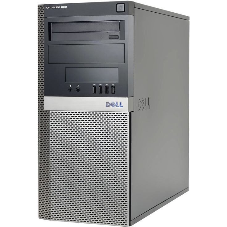 Dell OptiPlex 960 Core 2 Duo 3.16GHz 4GB 1.5TB Dvdrw Windows 7 Pro 64-bit Minitower PC
