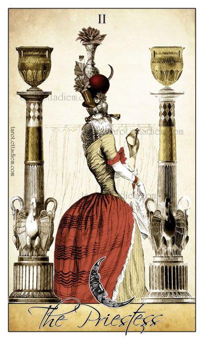 The Isidore Tarot - High Priestess