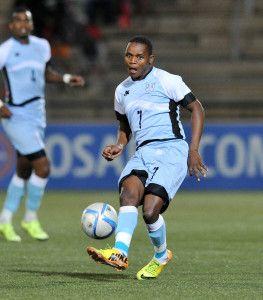 Kabelo Seakanyeng of Botswana during the 2016 Cosafa Cup Final match between South Africa and Botswana at Sam Nujoma Stadium in Windhoek Namibia on 25 June, 2016 ©Muzi Ntombela/BackpagePix