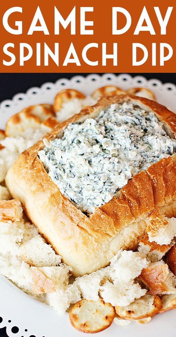 Game Day Knorr Spinach Dip -- A slight tweak to the classic Knorr spinach dip recipe and you have one of my most-requested game day and holiday appetizers! | isthisreallymylife.com