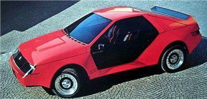 Βρισκόμαστε στο 1980. Η Ford αναθέτει στην ιταλική Ghia να εξελίξει για λογαριασμό της την Mustang RSX. Πρόκειται για μία έκδοση ράλι του πισωκίνητου μοντέλου, όμως η Ford δεν ικανοποιείται από το τελικό αποτέλεσμα και αποφασίζει να μην προχωρήσει στην παραγωγή του.