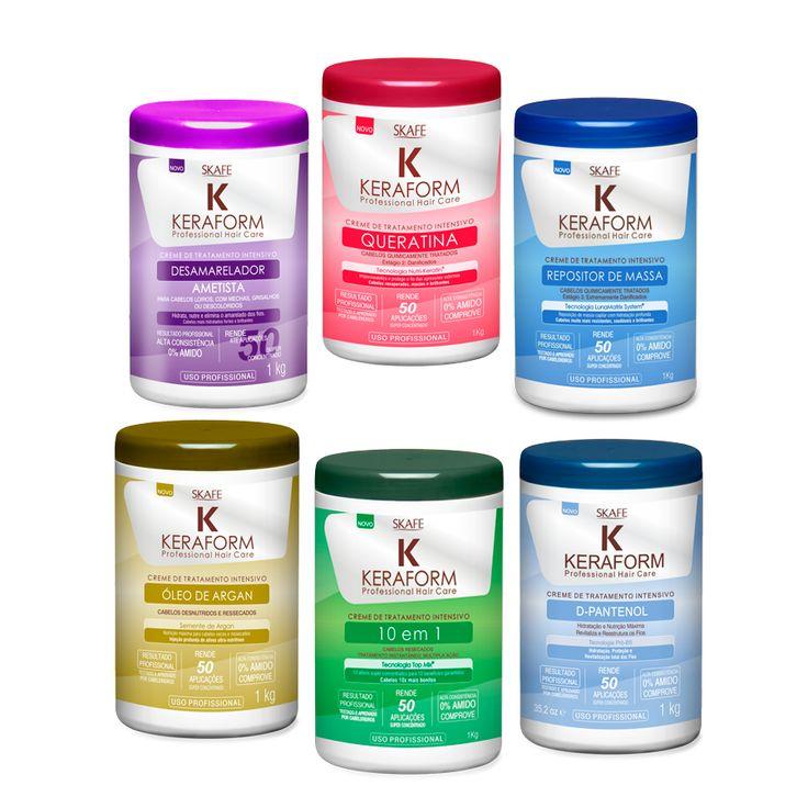 Keraform – Creme de tratamento intensivo