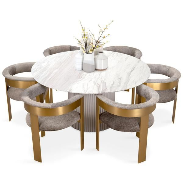 Ubud Round Dining Table Dining Table With Bench White Round
