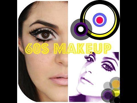Sixties Basic Makeup Tutorial - YouTube