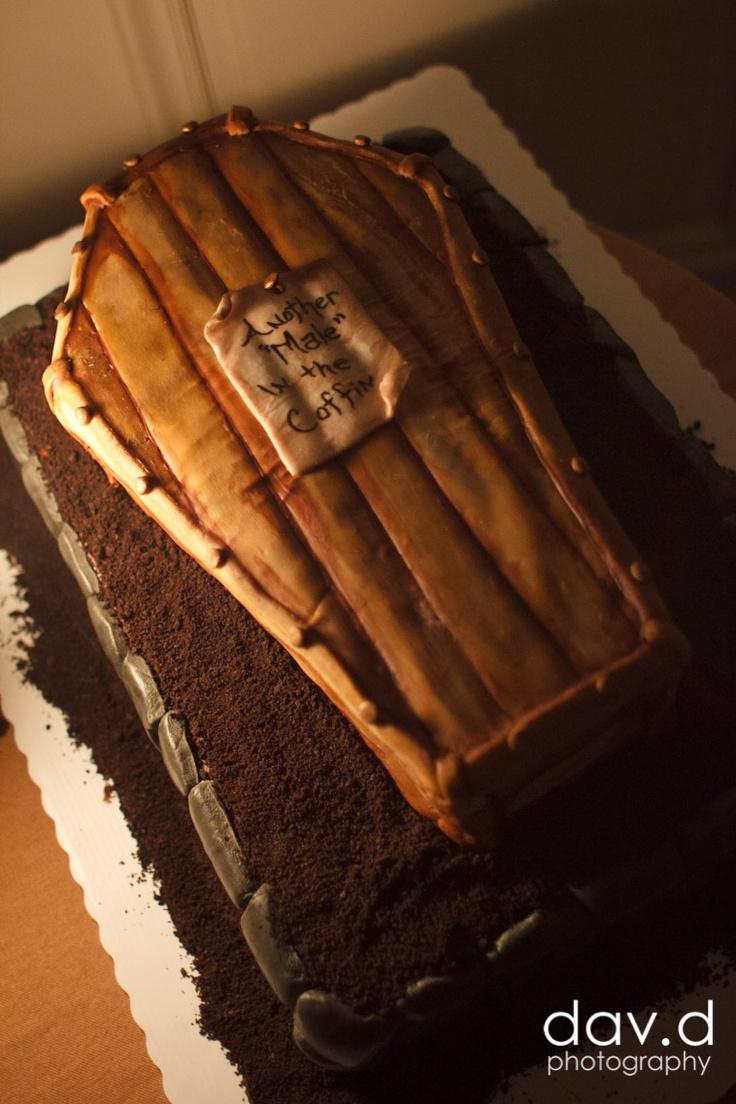 Coffin Cake Tin