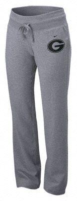 Georgia Bulldogs Women's Nike Slate Heather Grey Loungin' Pants