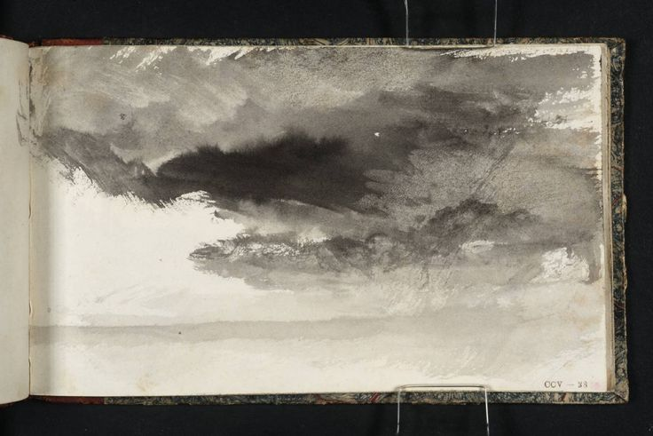 Joseph Mallord William Turner, 'Study of Sky' c.1823-4