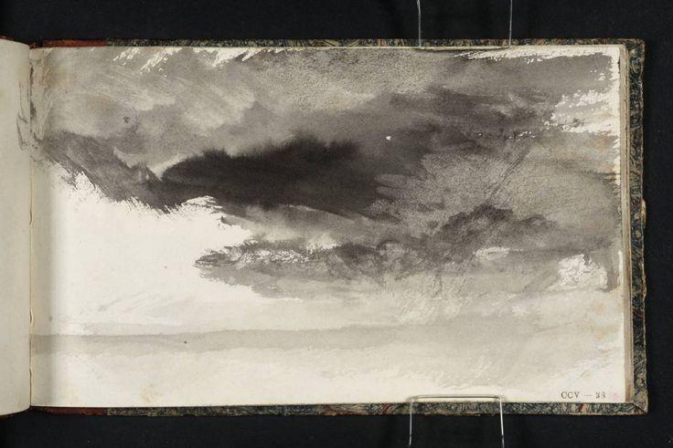 Joseph Mallord William Turner, 'Study of Sky' c.1823-4