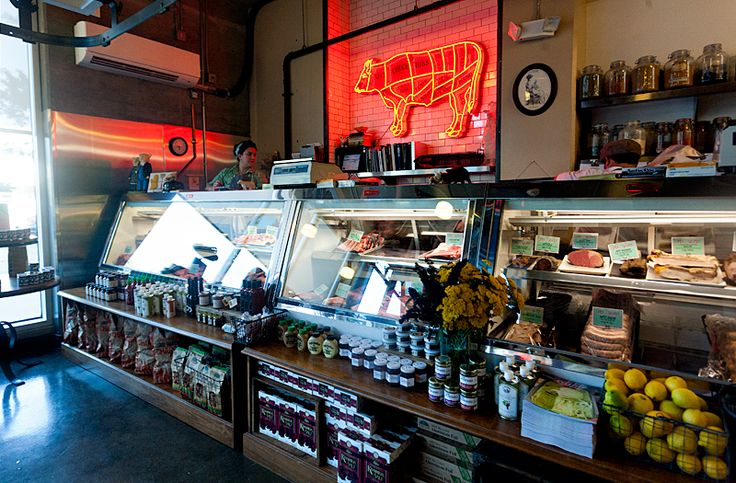 Lindy & Grundy's Butcher Shop, local meat in LA