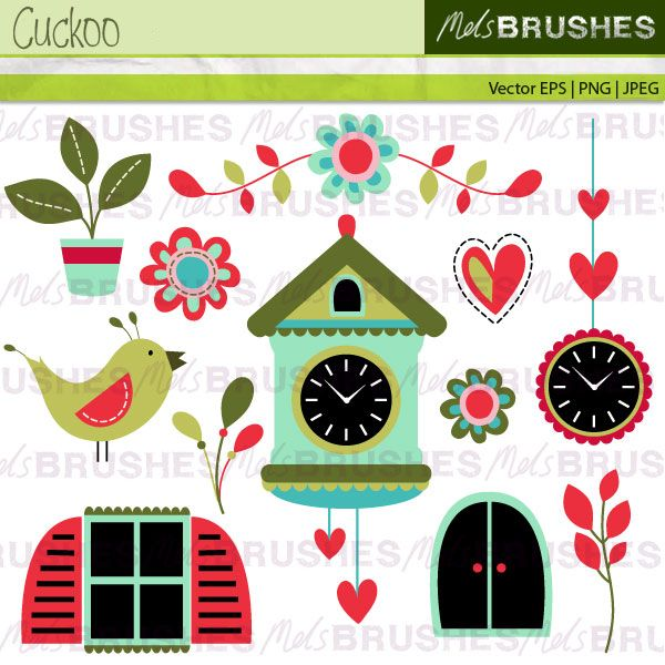 best ink images avocado tattoo drawings and a festive and seasonal set of folksy cuckoo clock clipart great for creating christmas cards