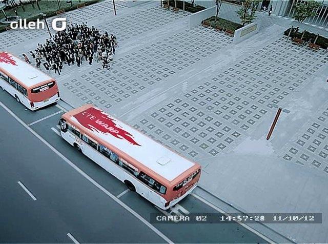 LTE WARP 스티커 4.버스