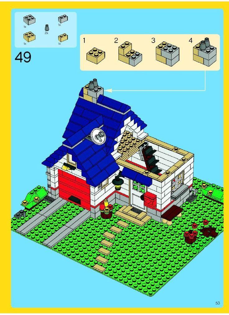 Создатель - Apple Tree House [Lego 5891]