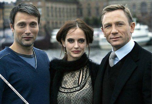 Mads Mikkelsen, Eva Green, & Daniel Craig