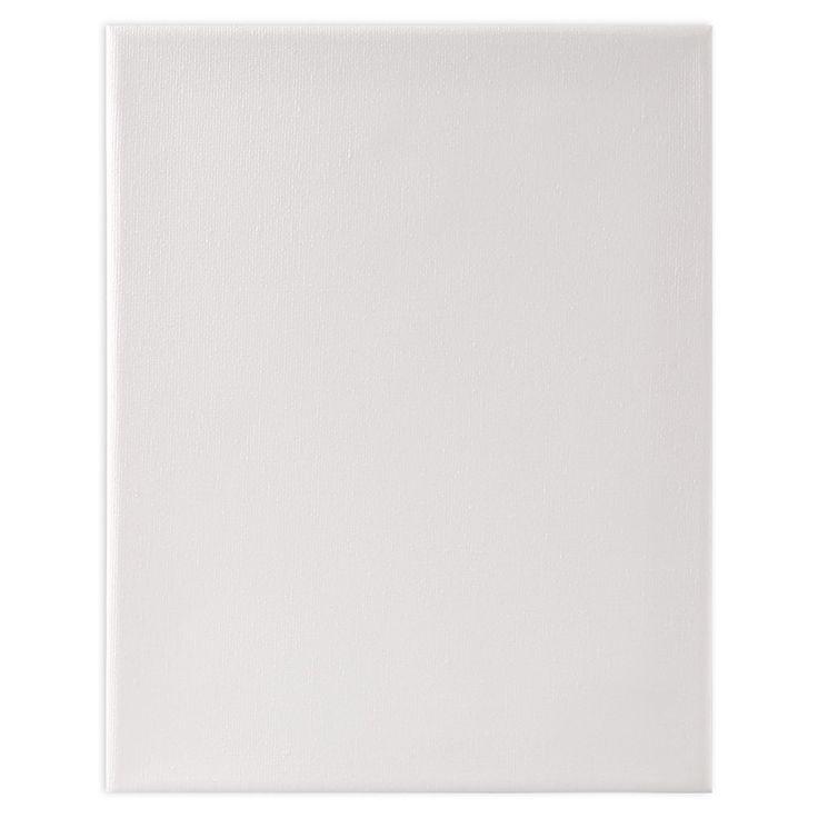 • Inklusive Holzkeile zum Nachspannen• Größe: 18 cm x 24 cm• Material: 100 % Baumwolle, Holz• Farbe: Weiß