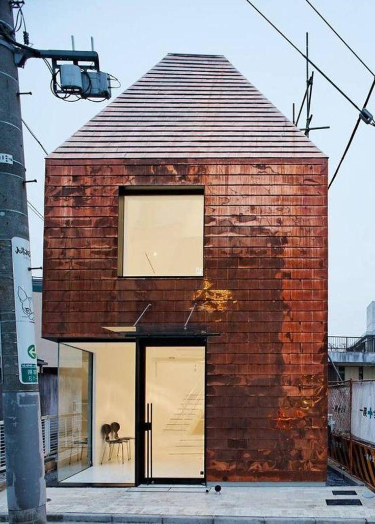exterior wall tiles copper -
