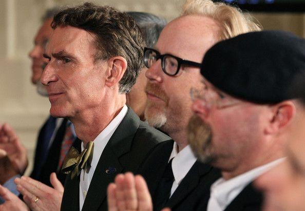 Bill Nye, Adam Savage, Jamie Hyneman
