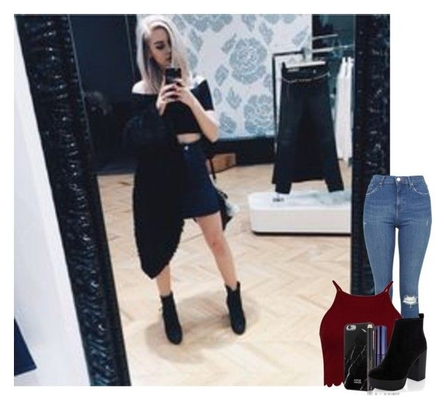 """""""Shopping w/ Amanda"""" by lexi546 ❤ liked on Polyvore featuring Topshop, Native Union, Estée Lauder and setsbylex"""