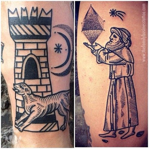 526 best images about Occult Tattoos on Pinterest