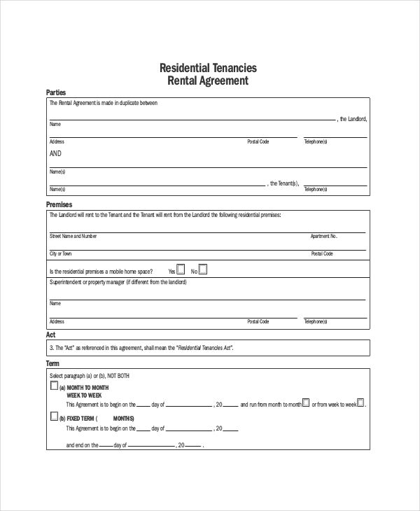 Image Result For Rent Contract Usa Rental Agreement Templates Lease Agreement Rental Application