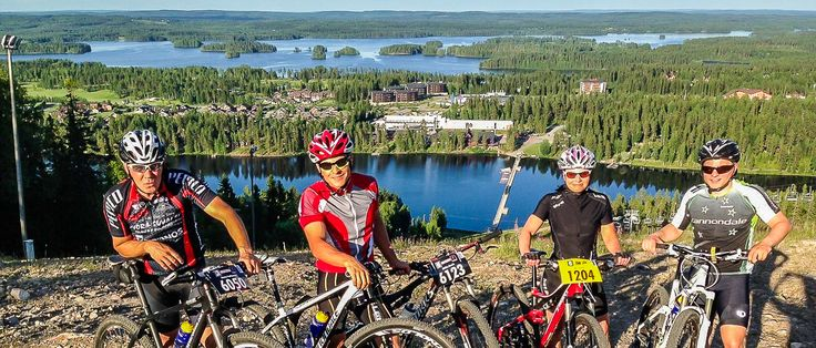 Rokua MTB Team. Mountain biking in Finland