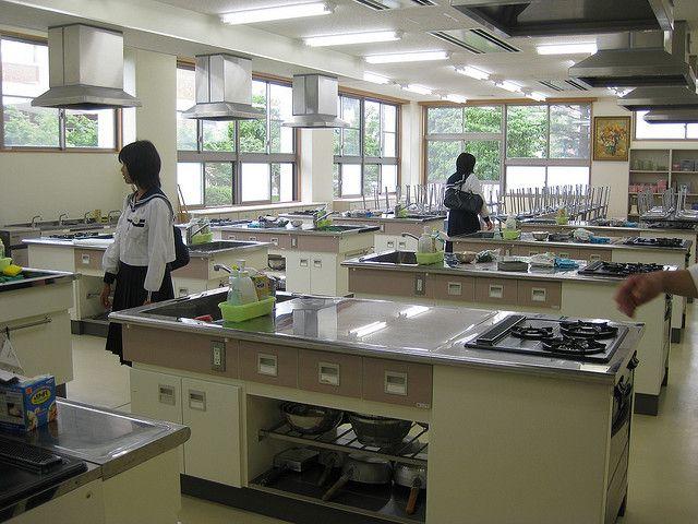 Classroom Kitchen Design ~ Cooking kitchen classroom idea acadamy school interior