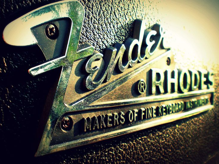A tone like no other, the Fender Rhodes.